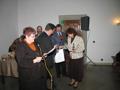 Odbieranie nagrody Złoty Medal dla SSM Puławy